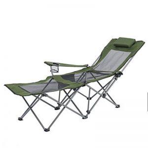 LE chaise portatives/pliantes extérieures camping avec repose-pieds/porte-gobelet/dos réglable/Heavy Duty/Camping Garden de la marque LE chaise image 0 produit