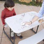 Lifetime Table de pique nique pour Enfant Almond 82,5 x 90,1 x 53,5 cm 280094 de la marque Lifetime image 3 produit