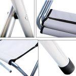 Lifeyz, chaise de camping pliable, tabouret de pêche solide pliant pour le camping, la randonnée de la marque Lifeyz image 4 produit