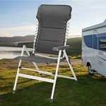 Lot de 2chaises de camping XXL rembourré–pliable et léger–Fauteuil relax stable avec confort de la marque Campart Travel image 3 produit