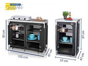 Lot de 2Solide solide Camping Pliable Outdoor Meuble de cuisine armoire de la marque Campart Travel image 0 produit