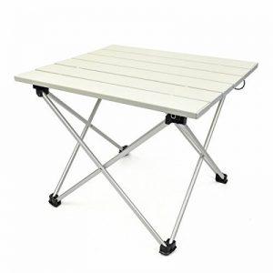 Luufan Table de camping pliante ultralégère en aluminium, Table Roll-Up portable avec sac de transport pour l'extérieur, Camping, pique-nique, plage, pêche, cuisine (3 taille) de la marque Luufan image 0 produit