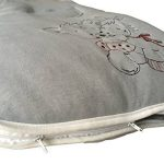 Madouck Gigoteuse bébé: 100% de coton, fermeture zippée à deux curseurs, 2,5 TOG, 0-6 Mois, 6-18 Mois, Brodé, Beige, Gris, Fille et Garçon de la marque Madouck image 2 produit