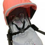 Madouck Gigoteuse bébé: 100% de coton, fermeture zippée à deux curseurs, 2,5 TOG, 0-6 Mois, 6-18 Mois, Brodé, Beige, Gris, Fille et Garçon de la marque Madouck image 4 produit