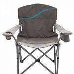 Meerweh La Mer mal Chaise pliante avec porte-gobelet et poche isotherme Relax Camping Chaise Pêcheur XXL de la marque Meerweh image 1 produit