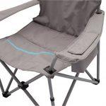 Meerweh La Mer mal Chaise pliante avec porte-gobelet et poche isotherme Relax Camping Chaise Pêcheur XXL de la marque Meerweh image 2 produit