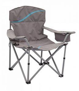 Meerweh La Mer mal Chaise pliante avec porte-gobelet et poche isotherme Relax Camping Chaise Pêcheur XXL de la marque Meerweh image 0 produit