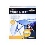 Milestone Ensemble de table de camping et tabouret&nbsp ndash;Crème, 42x 42x 46cm de la marque Milestone image 1 produit