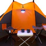 Milestone Ensemble de table de camping et tabouret&nbsp ndash;Crème, 42x 42x 46cm de la marque Milestone image 3 produit