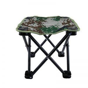 Mini Chaise Pliante Siège Tabouret Pliable Léger Portable avec Sac de Rangement pour Camping Pêche Escalade Randonnée - Couleur Camouflage de la marque VGEBY image 0 produit