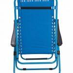 Mountain Warehouse Chaise de jardin inclinable - accoudoirs, chaise de camping coussin de tête rembourré, chaise de pique-nique durable, tabouret de bureau décontracté - Pour l'extérieur, la plage, le jardin de la marque Mountain Warehouse image 4 produit