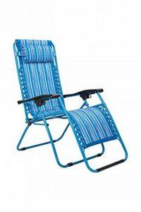 Mountain Warehouse Chaise de jardin inclinable - accoudoirs, chaise de camping coussin de tête rembourré, chaise de pique-nique durable, tabouret de bureau décontracté - Pour l'extérieur, la plage, le jardin de la marque Mountain Warehouse image 0 produit
