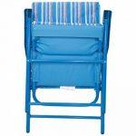Mountain Warehouse Chaise pliante rembourrée - Fauteuil léger, durable, rembourré, tabouret confortable - pour le pique-nique d'été, le jardin, la plage, le camping, les barbecues de la marque Mountain Warehouse image 4 produit