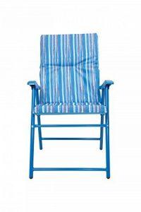 Mountain Warehouse Chaise pliante rembourrée - Fauteuil léger, durable, rembourré, tabouret confortable - pour le pique-nique d'été, le jardin, la plage, le camping, les barbecues de la marque Mountain Warehouse image 0 produit