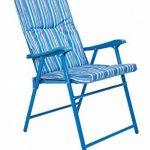 Mountain Warehouse Chaise pliante rembourrée - Fauteuil léger, durable, rembourré, tabouret confortable - pour le pique-nique d'été, le jardin, la plage, le camping, les barbecues de la marque Mountain Warehouse image 1 produit