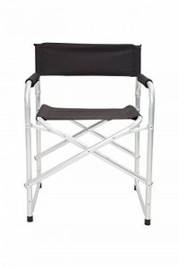 Mountain Warehouse Directeurs légers Chair - pliez, fauteuil léger, armature d'aluminium et tabouret compact de lecture - pour l'été dinant, campant, jardin et pique de la marque Mountain Warehouse image 0 produit