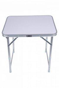Mountain Warehouse Table pliante - Table légère en plastique durable, extensible et pliante - Pour camper l'été, les voyages, la randonnée de la marque Mountain Warehouse image 0 produit