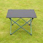 Moyad Table de Camping Pliante Table Pliable Compacte Ultra-légère pour Camping, Randonnée, Pique-nique de la marque Moyad image 3 produit