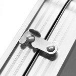 Myifan utilitaire 4/1,8m Table pliante en aluminium Portable Pliable Table avec poignée de transport pour Garden Party de cuisine pique-nique Camping 1.8M/6Ft de la marque Myifan image 3 produit