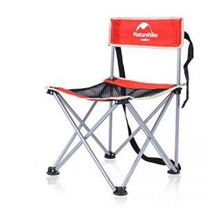 NatureHike Chaise pliante portative ultra-légère pour camping, pêche, loisirs, pique-nique, randonnée de la marque Naturehike image 0 produit