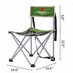 NatureHike Chaise pliante portative ultra-légère pour camping, pêche, loisirs, pique-nique, randonnée de la marque Naturehike image 2 produit