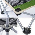 NatureHike Chaise pliante portative ultra-légère pour camping, pêche, loisirs, pique-nique, randonnée de la marque Naturehike image 4 produit