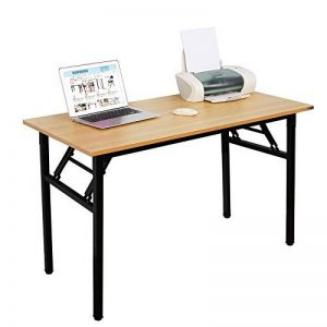 Need Bureau 120x60cm Table traiteur pliante Table Informatique Table buffet camping pliable Bureau de réception, Teck Chêne Couleur de la marque Need image 0 produit