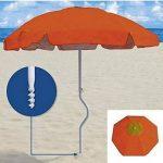 Neuf-plage-holly sTABIELO de plage pliable-coloris aZURO-voyage-parasol-sTABIELO hollysunny ® la plage fREIZEITSCHIRM eINDREHBARER parasol cAMPING léger de haute protection anti-uV de couleur rouge chaise pliante sTABIELO-holly-sunshade ®-sAISONARTIKEL du image 2 produit
