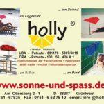 Neuf-plage-holly sTABIELO de plage pliable-coloris aZURO-voyage-parasol-sTABIELO hollysunny ® la plage fREIZEITSCHIRM eINDREHBARER parasol cAMPING léger de haute protection anti-uV de couleur rouge chaise pliante sTABIELO-holly-sunshade ®-sAISONARTIKEL du image 3 produit