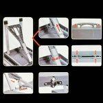 OEM 047625 - Table portable et pliable avec chaises pour pique-nique, camping ou barbecue de la marque REDCLIFFS image 2 produit