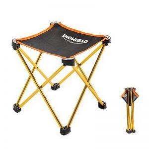 Overmont chaise banc Équipement Seat carré Portable Camping Loisirs Banc de Pêche Banc Pliant(Taille :25x25x28cm) de la marque Overmont image 0 produit