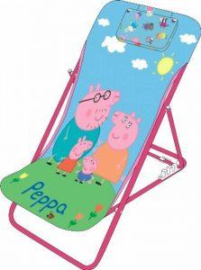 Peppa Pig 707821 Chilienne pour Enfant Métal Bleu 61 x 43 x 66 cm de la marque Peppa Pig image 0 produit