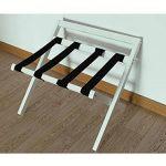 Popa chaise pliante Support à bagages pliable, Support à valise à bagages pliable, Support à valise pliable pour maintenir les sacs à dos des valises comme support de valise et étagère à valise de la marque Popa image 3 produit