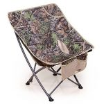 Portable Chaise Pliante Chaise Extérieure Chaise De Papillon Dossier Chaise De Pêche Barbecue Plage Croquis Chaise Chaise De Lune Paresseux Chaise,OneColor-58*67*73cm/1.90*2.2*2.4ft de la marque LDFN image 2 produit