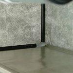 PrimeMatik - Armoire de rangement et chaussures en tissu 60 x 30 x 110 cm gris avec porte rouleau de la marque PrimeMatik.com image 3 produit
