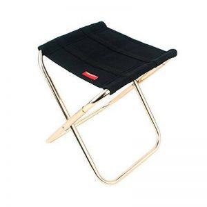 Prom-near Tabouret pliant peche Chaise pliante camping Chaise pliante en plein air camping randonnée aluminium alliage chaise de pêche barbecue tabouret pliant tabouret portatif de la marque Prom-near image 0 produit