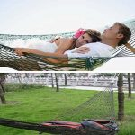 PZJ® Hamac de Camping, Portable Hamac ultra léger en nylon multifonctionnel mini de voyage vert armée pour camping ou jardin de la marque PZJ image 2 produit