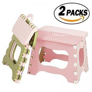 REKYO 2 Packs De Pliage Tabouret Marche-pied Pour Tout-petits Petit Portable Pliant Tabouret Marche-pied de la marque REKYO image 0 produit