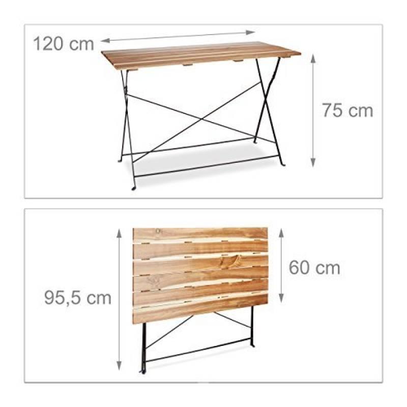 table picnic pliante bois votre comparatif pour 2019 le. Black Bedroom Furniture Sets. Home Design Ideas