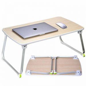 Salcar Ordinateur Table Portable, Ordinateur Table basse pliable, Table légère pour bureau à domicile, 70 * 50 * 32,5 cm, bois de la marque Salcar image 0 produit