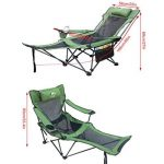 siège camping avec repose pied TOP 14 image 1 produit