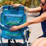 Siège pour la plage/jardin Tommy Bahama faltet, avec réfrigérateur et compartiment Bleu de la marque Tommy Bahama image 2 produit