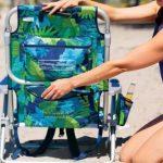 Siège pour la plage/jardin Tommy Bahama faltet, avec réfrigérateur et compartiment Fleurs de la marque Tommy Bahama image 2 produit
