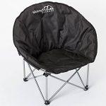 Skandika Moonchair - Siège fauteuil de camping pliable - acier - Jusqu' à 110 kg de la marque SKANDIKA image 1 produit