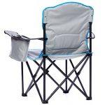 skandika Siège Deluxe - Siège chaise de camping pliable - Jusqu'à 150 kg - Sac de transport - Gris/Noir de la marque skandika image 2 produit