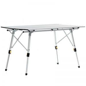 skandika Table de camping pliable pliante en aluminium portable 6 personnes + sac de transport de la marque SKANDIKA image 0 produit
