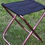 Super Light Camping chaise de pêche en plein air barbecue portable mini chaise pliante tabouret de jardin sac de livraison 24 * 22 * 26CM peut être personnalisé prix fixé de la marque HZJ image 4 produit
