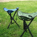Superwinger Tabouret pliant, petite léger Portable de chaise pliable, chaise de camping trépied pour le camping, la pêche, les événements de plage, DE VOYAGE, parcs, jardinage de la marque Superwinger image 3 produit