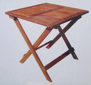 TABLE BASSE EN BOIS D'ACACIA PLIANTE PIABLE DECORATION POUR SALON MAISON CAMPING JARDIN OU EXTÉRIEUR de la marque LIFE DECO image 0 produit