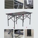 table camping aluminium 140 TOP 11 image 1 produit